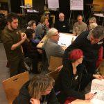 lebhafte Diskussion in den Arbeitsgruppen